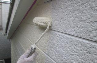 外壁:中塗り