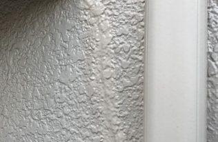 外壁:クラック補修後