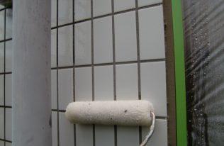 外壁:下塗り