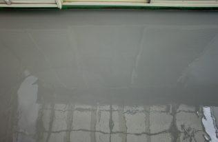 バルコニー床:ウレタン塗布