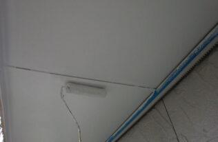 天井:上塗り